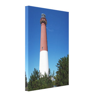 Barnegat Lighthouse Old Barney Canvas Print
