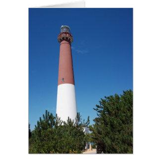 Barnegat Lighthouse Old Barney Card