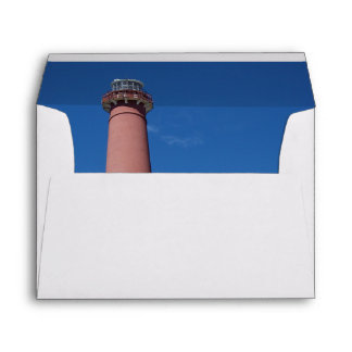Barnegat Lighthouse Old Barney Envelope