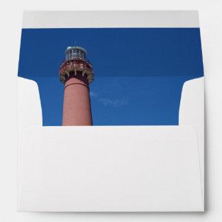 Barnegat Lighthouse Old Barney Envelope