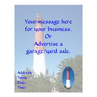 "Barnegat Lighthouse: Old Barney 8.5"" X 11"" Flyer"