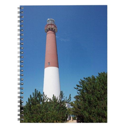 Barnegat Lighthouse Old Barney Notebook