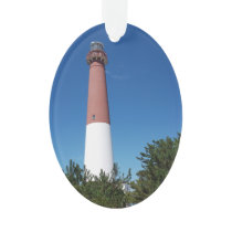 Barnegat Lighthouse Old Barney Ornament