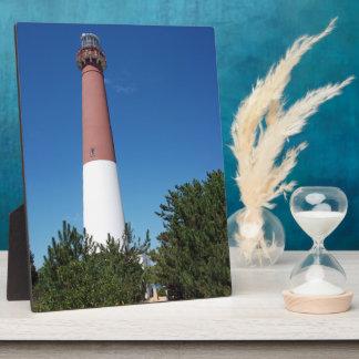 """Barnegat Lighthouse """"Old Barney"""" Display Plaque"""