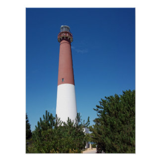 Barnegat Lighthouse Old Barney Poster