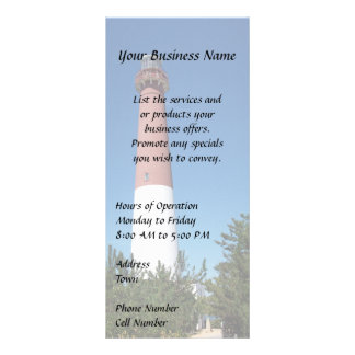 Barnegat Lighthouse: Old Barney Rack Card