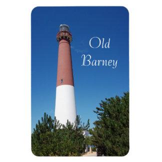"""Barnegat Lighthouse """"Old Barney"""" Rectangular Photo Magnet"""