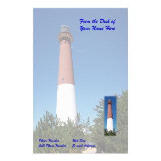 Barnegat Lighthouse: Old Barney Stationery
