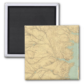 Barnegat, New Jersey 2 Inch Square Magnet