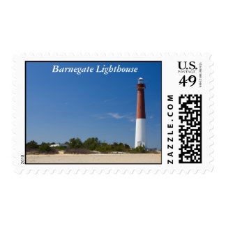 Barnegate Lighthouse Postage Stamp