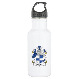 Barner Family Crest 18oz Water Bottle
