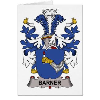 Barner Family Crest Card