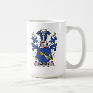 Barner Family Crest Classic White Coffee Mug