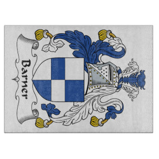 Barner Family Crest Cutting Boards