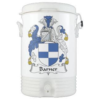 Barner Family Crest Igloo Beverage Cooler