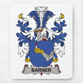 Barner Family Crest Mouse Pad