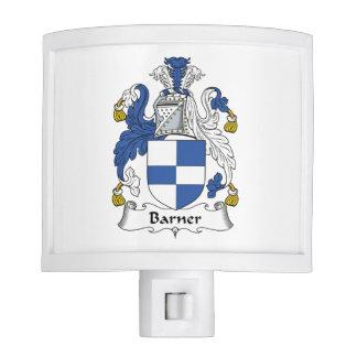 Barner Family Crest Night Lite