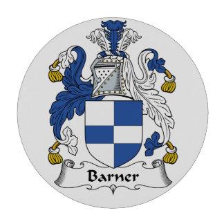 Barner Family Crest Poker Chip Set