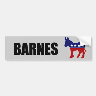 BARNES 2010 CAR BUMPER STICKER