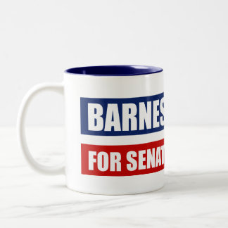 BARNES 2010 Two-Tone COFFEE MUG