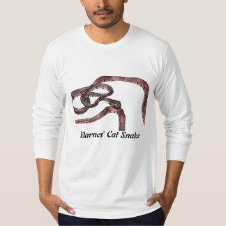 Barnes' Cat Snake American Apparel Long Sleeve T-Shirt