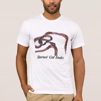 Barnes' Cat Snake Basic American Apparel T T-Shirt