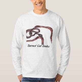 Barnes' Cat Snake Basic Long Sleeve T-Shirt