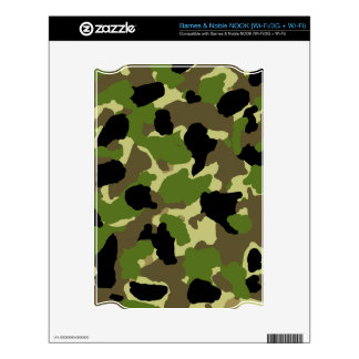 Barnes & Noble NOOK WI FI Camouflage Custom Skin Decal For The NOOK