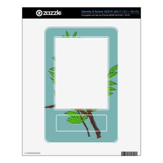Barnes & Noble NOOK WiFi Skin w/Leaves Nature Art NOOK Skin