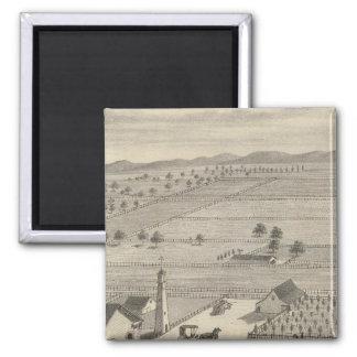 Barnes res, Woodland Fridge Magnet
