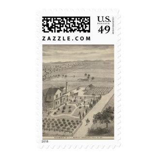 Barnes res, Woodland Postage Stamp