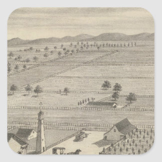 Barnes res, Woodland Sticker
