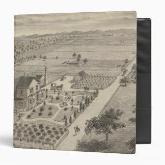 Barnes res, Woodland Vinyl Binders