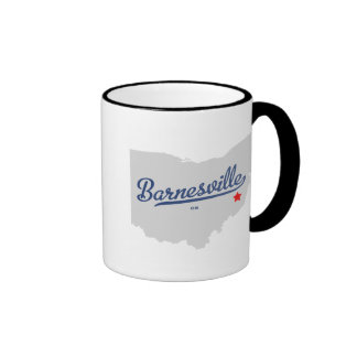 Barnesville Ohio OH Shirt Ringer Coffee Mug