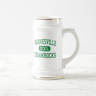 Barnesville - Shamrocks - High - Barnesville Ohio 18 Oz Beer Stein