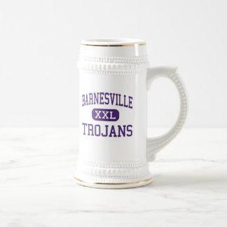 Barnesville - Trojans - High - Barnesville 18 Oz Beer Stein