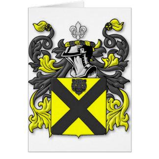 Barnett Coat of Arms Card