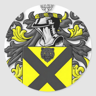 Barnett Coat of Arms Classic Round Sticker
