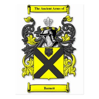 Barnett Coat of Arms Postcard