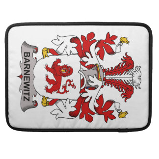Barnewitz Family Crest Sleeves For MacBook Pro
