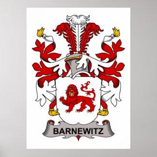 Barnewitz Family Crest Print