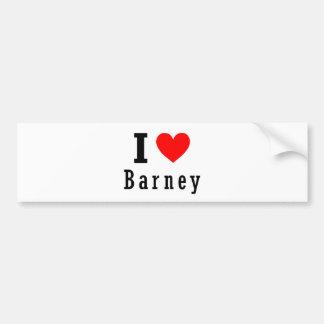 Barney, Alabama City Design Bumper Sticker