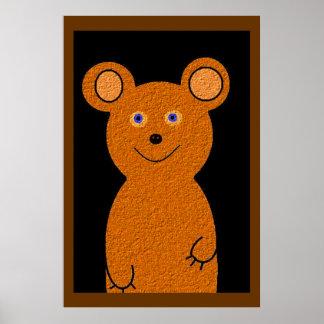 Barney Bear Poster