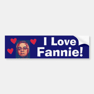 barney bumper sticker