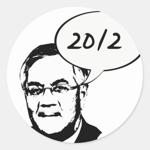 Barney Frank 2012 Pegatina Redonda