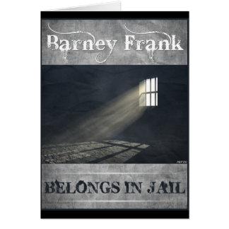 Barney Frank Card