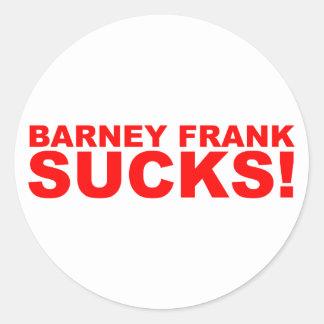 ¡Barney Frank chupa Etiqueta Redonda