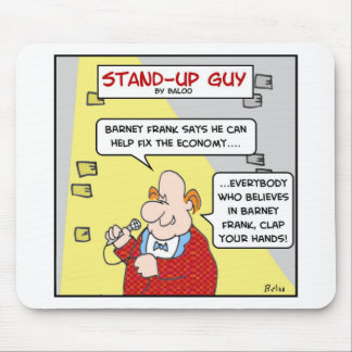 barney frank clap your hands believes mouse pad
