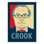 Barney Frank Hope Crook Greeting Card