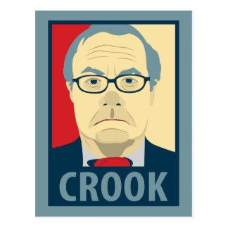 Barney Frank Hope Crook Postcard